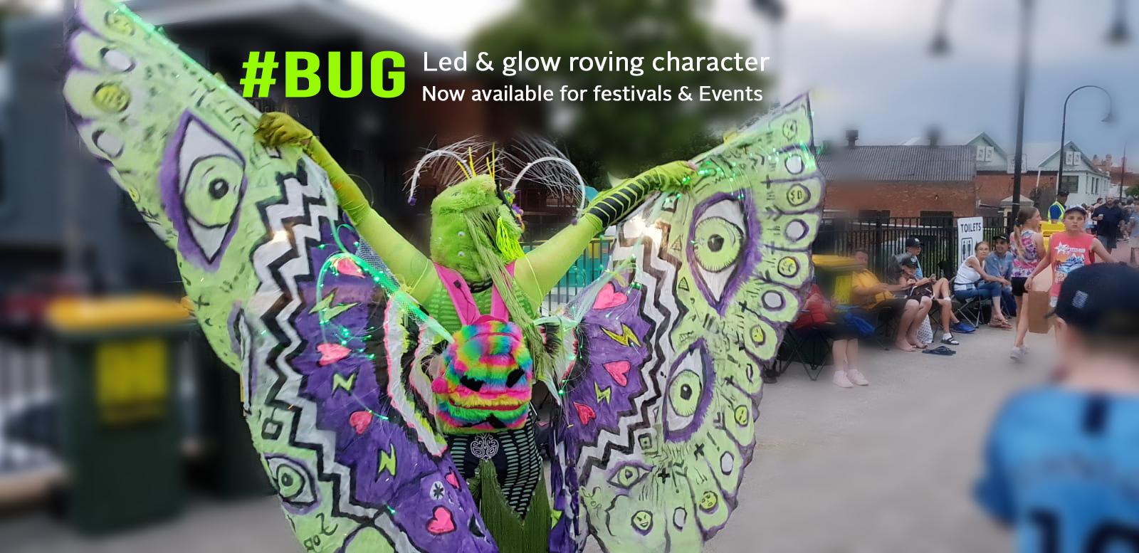 #bug roving LEd character